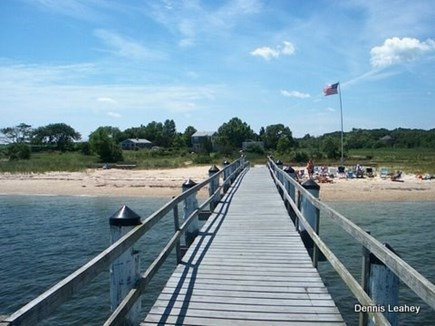 Fairhaven MA vacation rental - View of Sea Space from our Pier
