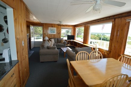 Fairhaven MA vacation rental - Bayside - Living /Dining Room