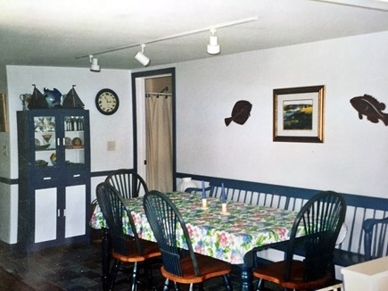 Wellfleet Cape Cod vacation rental - Dining Room w/ large table for family dinners