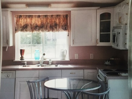 Wellfleet Cape Cod vacation rental - Well Equipped Kitchen w/ Dishwasher and Microwave.