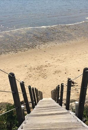 Wellfleet Cape Cod vacation rental - Stairs to Beach - 50 feet from the house.