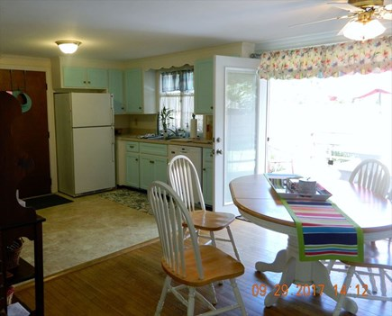 Yarmouthport Cape Cod vacation rental - Kitchen Dining Area