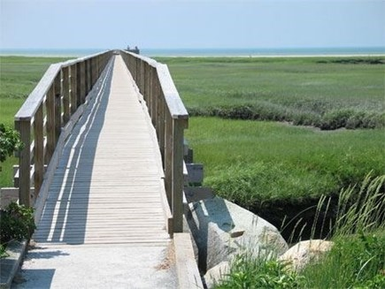 Yarmouthport Cape Cod vacation rental - Boardwalk at Grays Beach