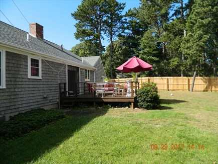 Yarmouthport Cape Cod vacation rental - Back Yard