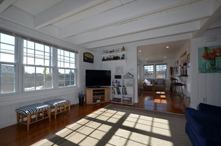 West Dennis Cape Cod vacation rental - Living area