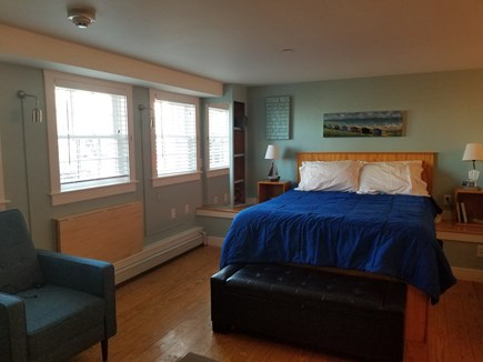 Provincetown Cape Cod vacation rental - A view of the condo toward the windows