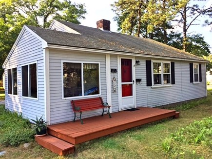 Dennisport Cape Cod vacation rental - Front of Cottage