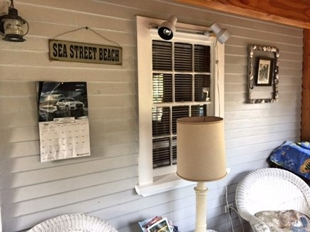 Dennisport Cape Cod vacation rental - Porch