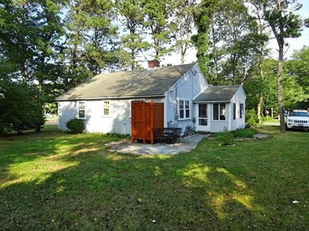 Dennisport Cape Cod vacation rental - Back of house