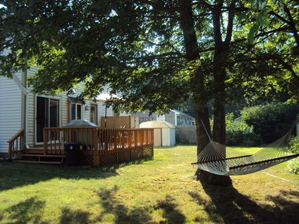 West Hyannisport Cape Cod vacation rental - Back Yard