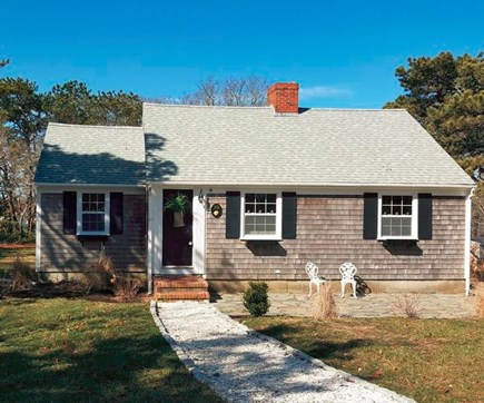 Harwich Port Cape Cod vacation rental - Seashell walk-way and drive way .... private road.