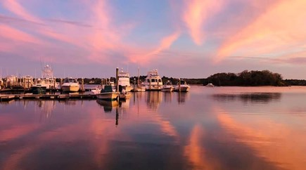 Onset MA vacation rental - View of beautiful Onset Harbor with daily cruises available.