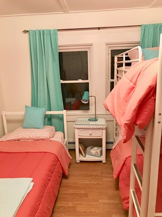 Onset MA vacation rental - Bedroom 4 equipped with toys, books and pack and play.