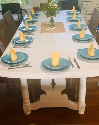 Onset MA vacation rental - Plenty of seating for indoor dinners