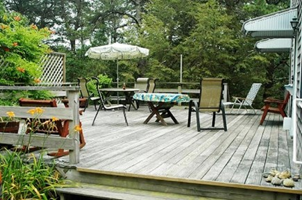Wellfleet Cape Cod vacation rental - Private Deck