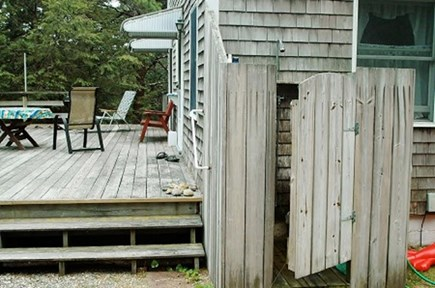 Wellfleet Cape Cod vacation rental - Outdoor Shower