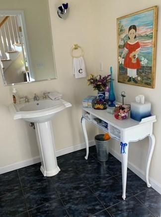 New Seabury Cape Cod vacation rental - Downstairs Half Bathroom