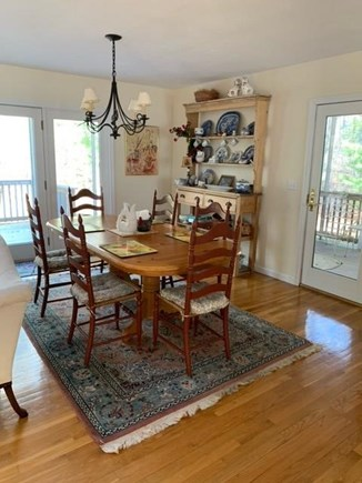 New Seabury Cape Cod vacation rental - Dining Room with access to outdoor deck and screened in porch