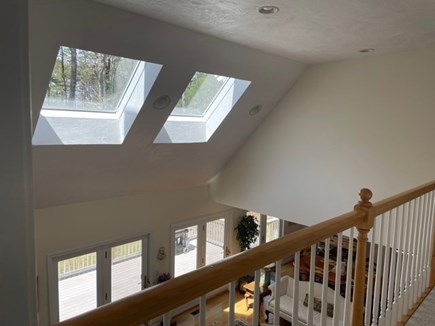 New Seabury Cape Cod vacation rental - View of LR from Above