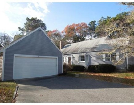 Brewster Cape Cod vacation rental - Large outdoor setting, with side and back yard and garage.