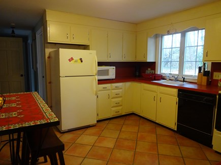 Brewster Cape Cod vacation rental - Large, eat-in kitchen with all the cooking equipment.