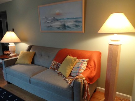Brewster Cape Cod vacation rental - New couch.