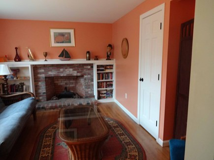 Brewster Cape Cod vacation rental - Sunny den with futon.