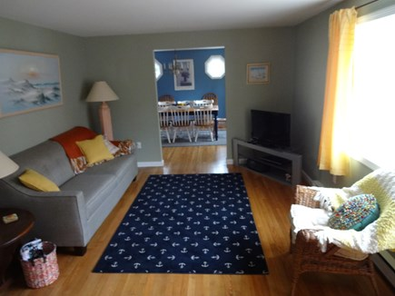Brewster Cape Cod vacation rental - Large, sunny, comfortable living room