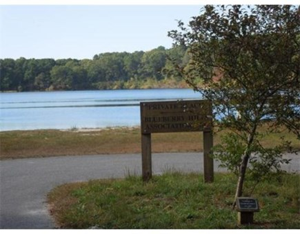 Brewster Cape Cod vacation rental - Beautiful Blueberry Pond with a sandy beach and fishing