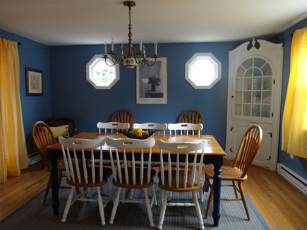 Brewster Cape Cod vacation rental - Dinning room with seating for 10 and slider to deck