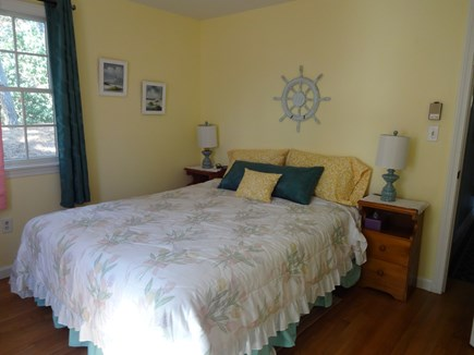 Brewster Cape Cod vacation rental - Bright, 1st floor bedroom with queen bed