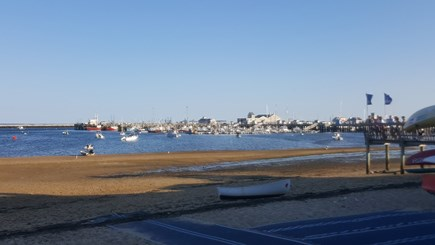 Provincetown Cape Cod vacation rental - View of townscape at bay-side beach (Cape Cod Bay).