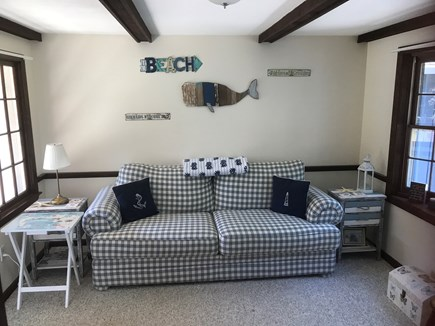 West Yarmouth Cape Cod vacation rental - Cozy sunroom with cable TV