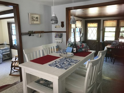 West Yarmouth Cape Cod vacation rental - Dining area into additional camp room