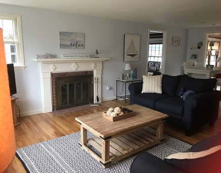 West Yarmouth Cape Cod vacation rental - Warm and cozy living area
