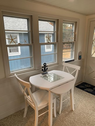 West Yarmouth Cape Cod vacation rental - Enjoy additional dining space off the kitchen