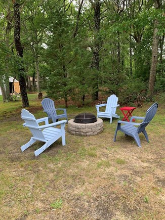 West Yarmouth Cape Cod vacation rental - Wood firepit