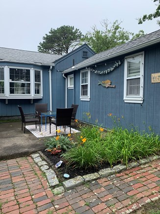 West Yarmouth Cape Cod vacation rental - Outdoor seating to enjoy drinks or a cup of coffee!