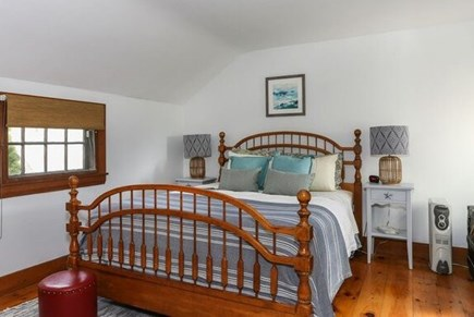 Dennis Port Cape Cod vacation rental - Master bedroom, queen w/television.