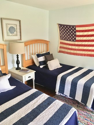 Dennis Port Cape Cod vacation rental - 2nd bedroom, 2 twin beds, TV
