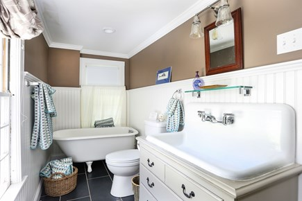 Harwich Cape Cod vacation rental - Another view of the main bathroom looking from the shower