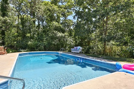Harwich Cape Cod vacation rental - A view of the swimming pool from the shallow end.