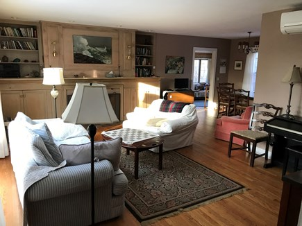 E Orleans / Orleans Village Cape Cod vacation rental - Living room, looking toward den