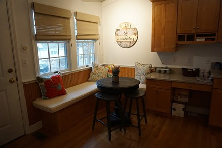 North Falmouth Cape Cod vacation rental - Breakfast nook