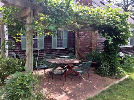 Wellfleet Cape Cod vacation rental - Front Patio