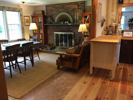 Wellfleet Cape Cod vacation rental - Another view of 1st floor open plan