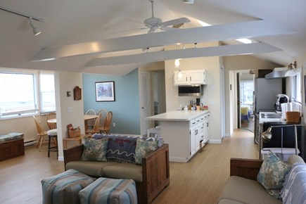 Eastham, Bay Side, North of Campground  Cape Cod vacation rental - Kitchen and dining area.