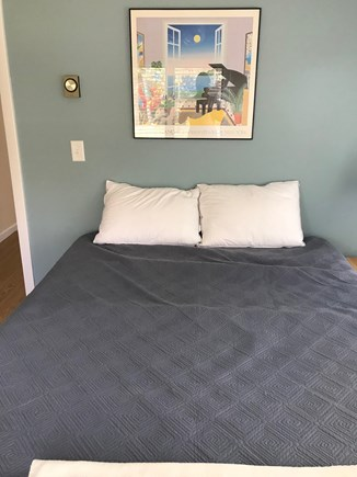 Eastham, Bay Side, North of Campground  Cape Cod vacation rental - Master Bedroom with AC, water views.