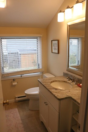 Eastham, Bay Side, North of Campground  Cape Cod vacation rental - One of two, newly updated full bathrooms.