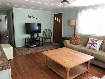 Eastham Cape Cod vacation rental - Property ID 28957 Lobster lvg rm w/ cable t.v. Wifi & a/c, 3 bdrm